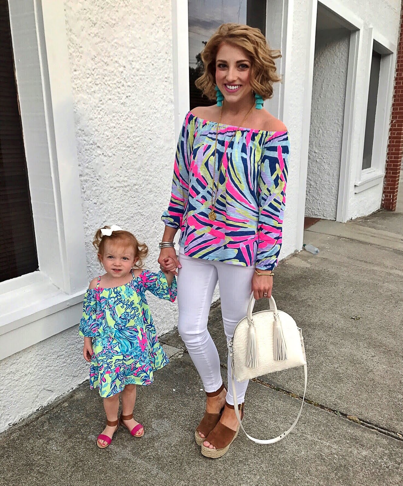 Mommy & Me Lilly Pulitzer Click through to see more on Something Delightful