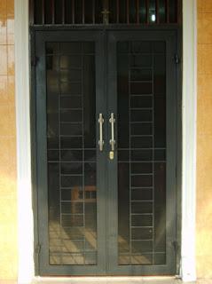 10 Model Terbaru Teralis pintu Minimalis Inspiratip Rumah Masa Kini 5