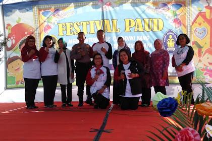 Kapolsek Jetis Hadiri Pembukaan Festival Paud Kelurahan Bumijo