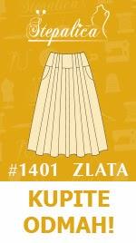 Štepalica: Zlata kroj za suknju