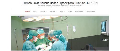Jadwal Dokter RS Khusus Bedah Diponegoro Dua Satu Klaten