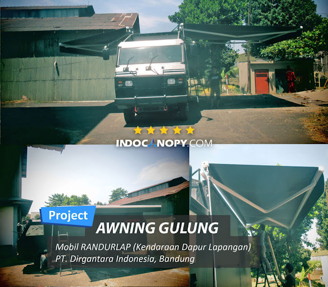 awning gulung foodtruck