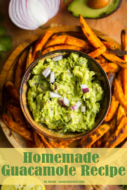 Homemade Guacamole Recipe You might try