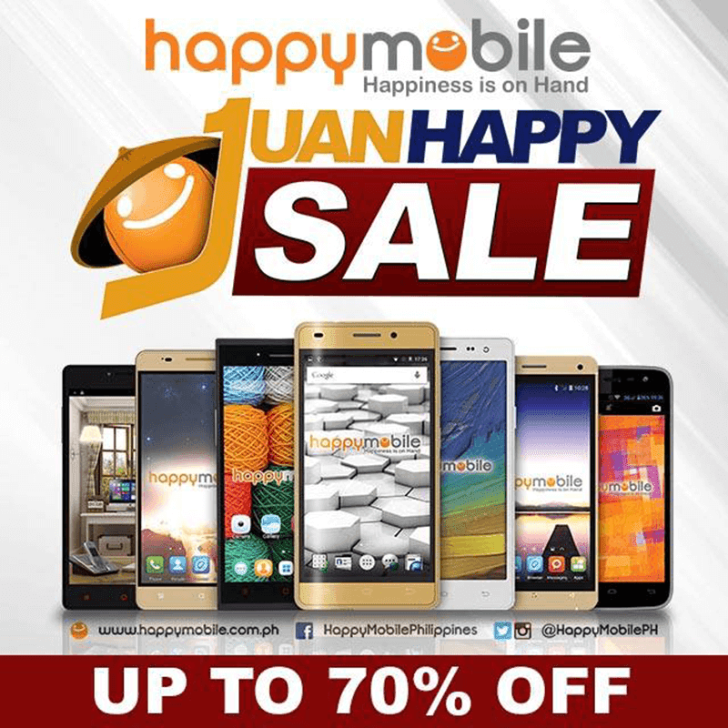 Happy Mobile sale up 70% off