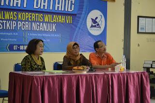 Upaya pembinaan terhadap PTS di Jawa Timur, Kopertis 7 Jatim Kunjungi STKIP PGRI Nganjuk