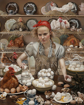 Pecking Order, Andrea Kowch