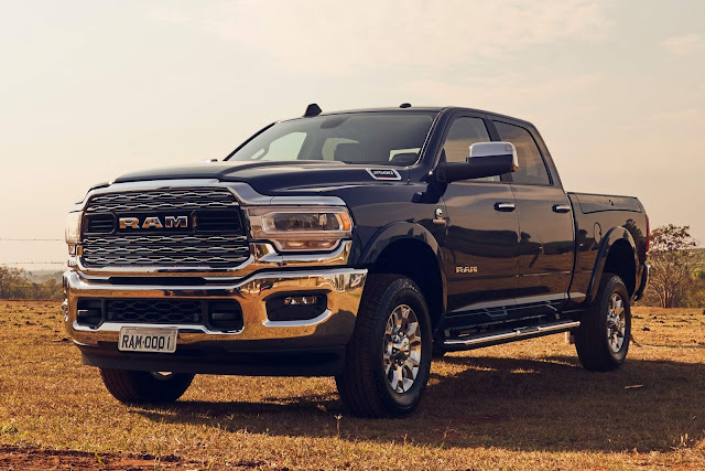 Ram Heavy Duty é Picape do Ano pela Motor Trend - EUA