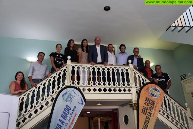 Santa Cruz de La Palma acoge la VI Travesía a Nado Isla de La Palma