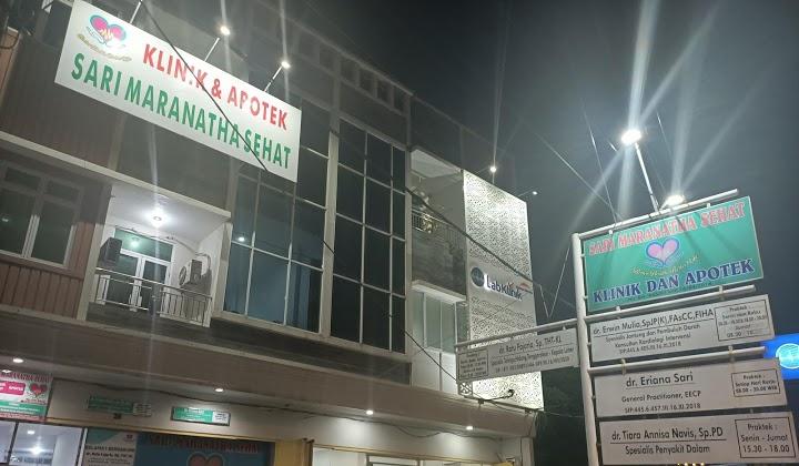 Daftar Fasilitas Kesehatan Klinik Sari Maranatha Sehat Lampung
