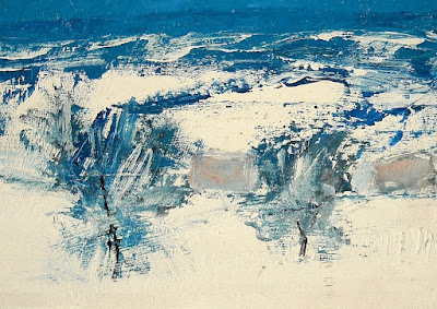 Due dipinti di Carlo Saccardi -  arte contemporanea