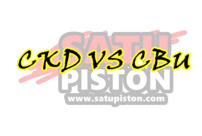 Perbedaan CKD dan CBU Pada Motor