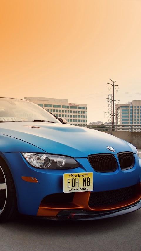 BMW E92 M3 Màu Xanh
