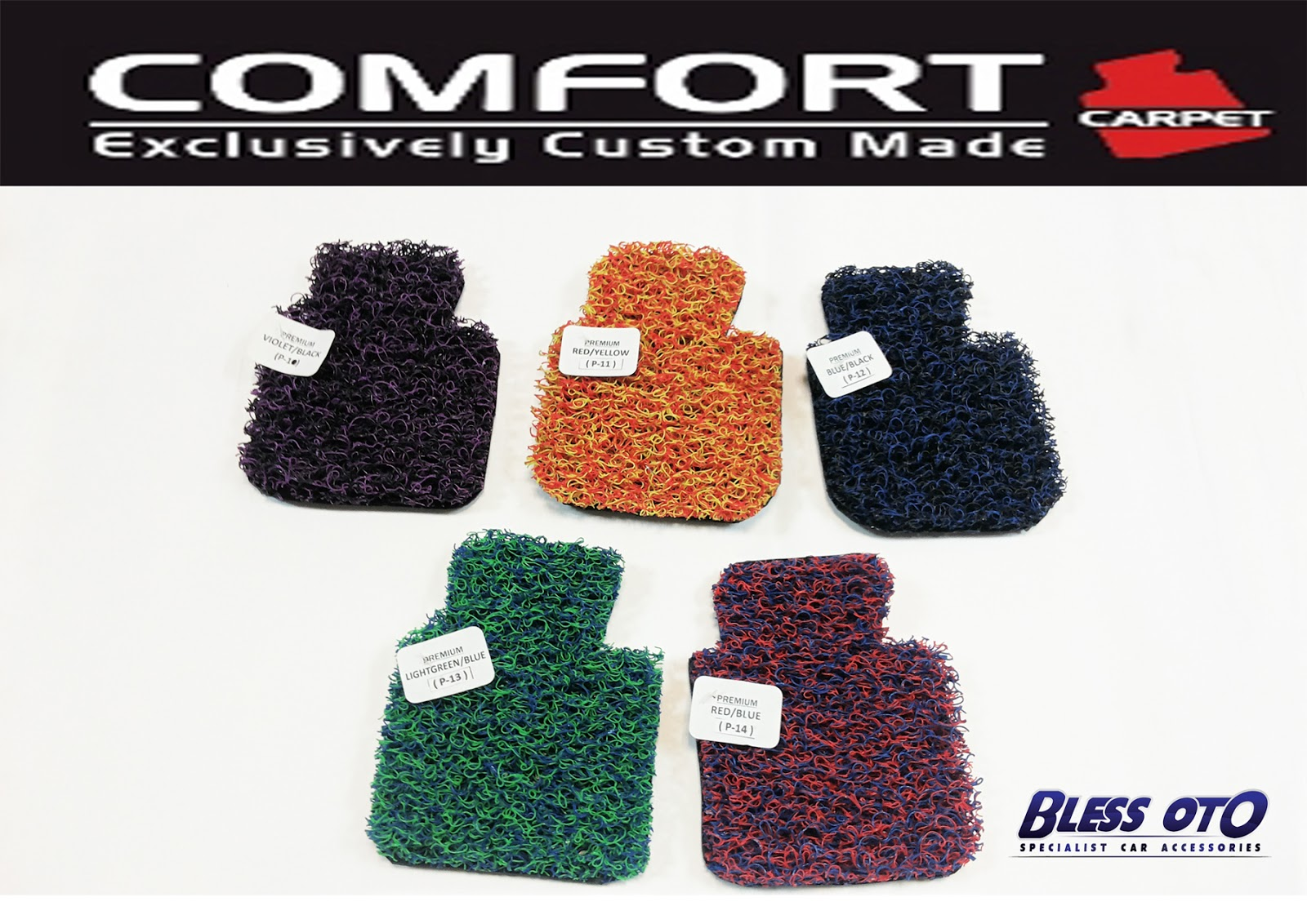 Bless Oto Spesialist Car Accessories Comport Carpet Karpet Nissan X Trail Premium 2cm Warna Baru Comfort