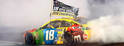 Kyle Busch already won two #NASCAR races in Las Vegas this weekend.