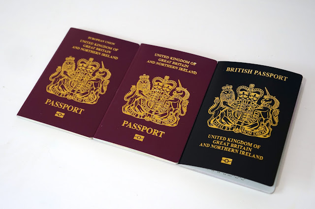 British red and black passports: Photo by Ethan Wilkinson on Unsplash