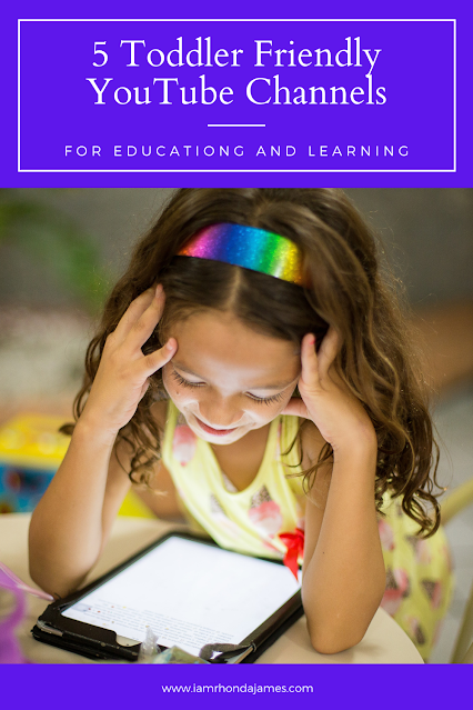 5 Toddler Friendly YouTube Channels For Education and Learning