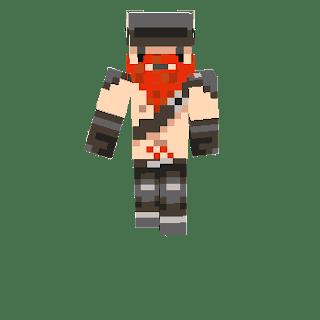 Dwarf Red Beard Skin