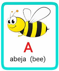 a- alphabet in spanish