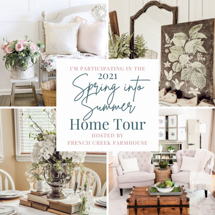 Spring into Summer home tour graphic