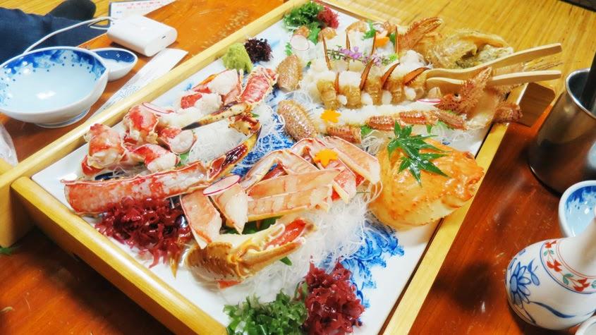 Dinner at Kani Shogun