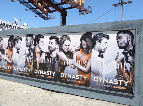 Dynasty series street posters