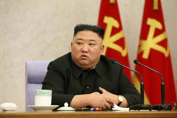 Kim Jong Un Concludes Report on First Agenda Item