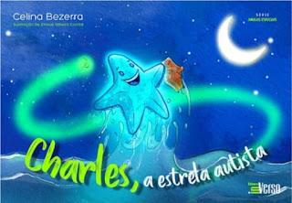 Capa divulgação do livro Charles, a estrela autista