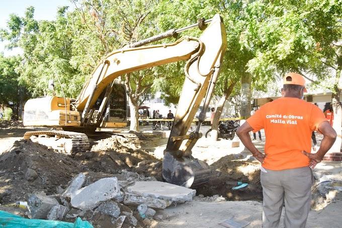 Inicia intervención pluvial en El Pando para soluciona la problemática de inundaciones