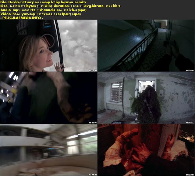 Descargar Hardcore: Misión extrema Latino por MEGA.