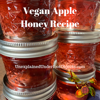 vegan honey recipe