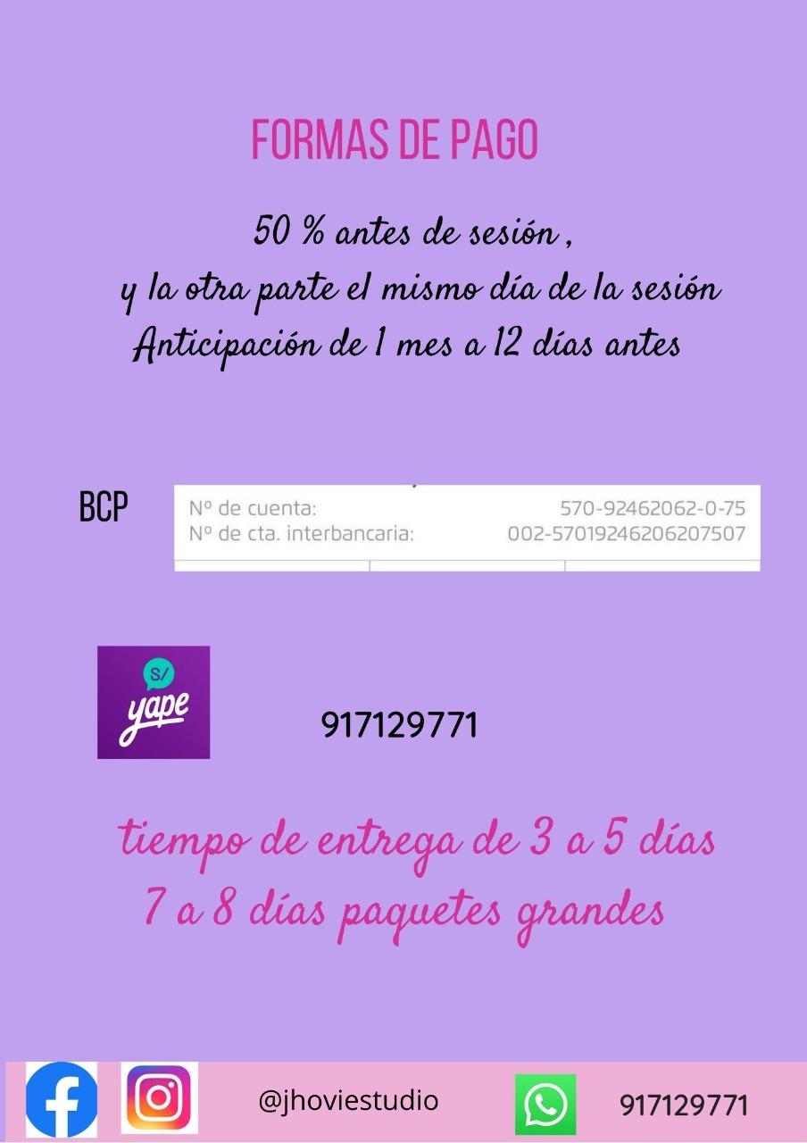 Sesión de fotos en Trujillo Perú 2021