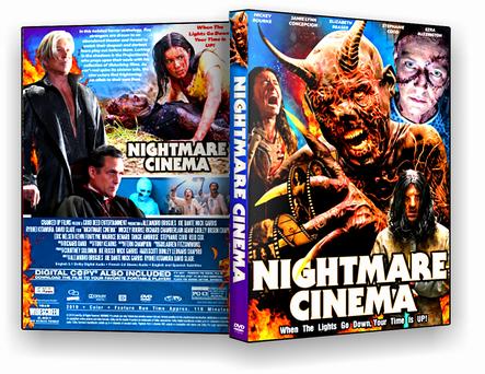 DVD Nightmare Cinema 2019 - ISO