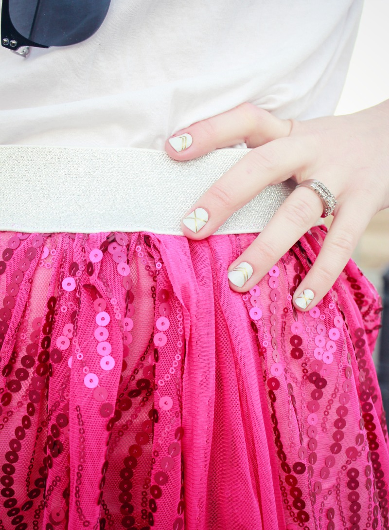 The skirt you need to make, like, yesterday. DIY romantic sheer maxi sewing tutorial