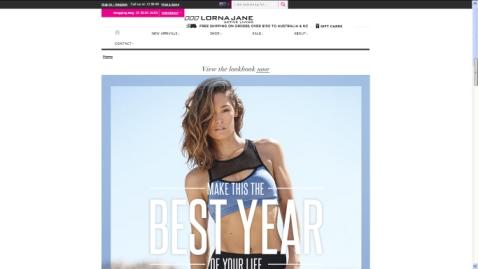 ヨガやスポーツウェアで人気のオーストラリアブランドローナジェーンの公式通販サイト