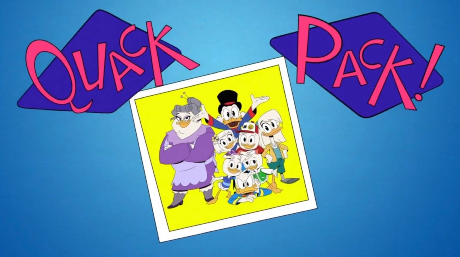 Uk New Ducktales Episode Quack Pack Premieres Today On Disney Xd