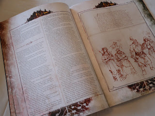 Shadows Over Hammerhal guide book contents
