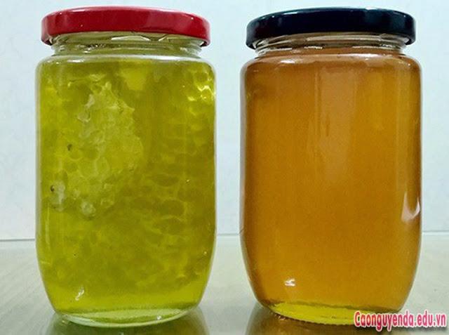 Nhận biết mật ong hoa bạc hà giả