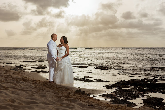 Guadeloupe trash the dress