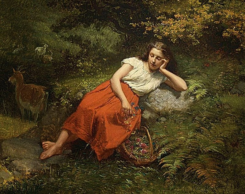 Theodore Gerard | Award Winning Belgian Painter (1829-1895)