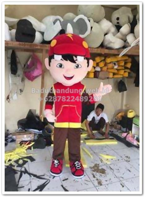 gambar badut boboiboy kostum karakter terbaru