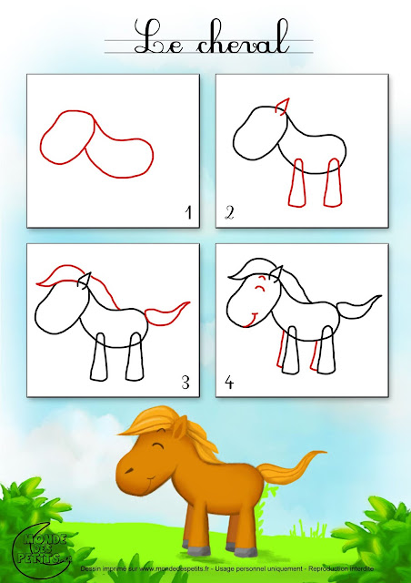Easy drawings for children