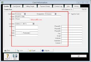 Cara Membuat Daftar Supplier dan Customer di Myob