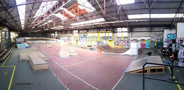 skate park couvert arras