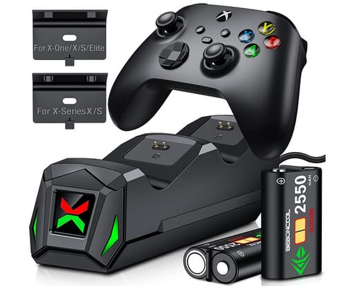 BEBONCOOL Dual Charging Dock Controller for Xbox One