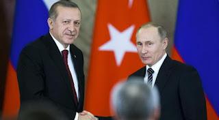 مبعوث الأمم المتحدة للسلام في سوريا يحث بوتين وأردوغان على التفاهم