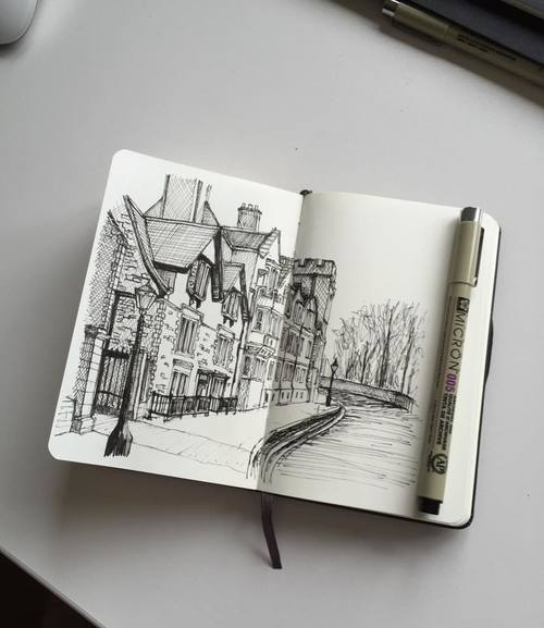 09-Small-Village-Phoebe-Atkey-Architecture-Urban-Drawings-and-Interior-Design-Sketches-www-designstack-co