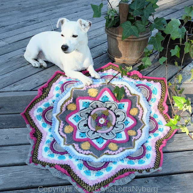 Mandala madness CAL 2016 part 7 crochet