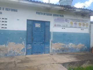 Veja vídeo: População cobra melhorias em prédio de PSF de Itamaraty em Guarabira