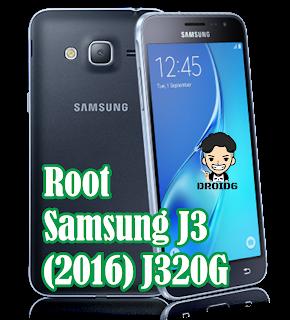 Cara Root Samsung J3 (2016) J320G