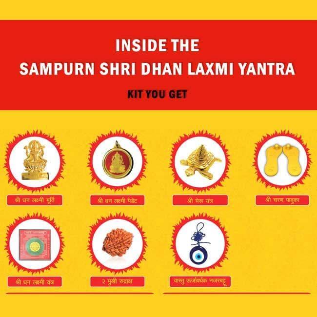 Sampurn Shri Dhan Laxmi Yantra